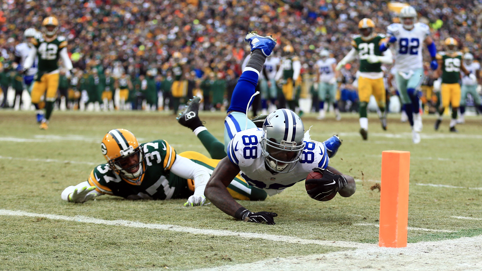Three years later, the NFL now says Cowboys' Dez Bryant did, in fact.