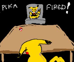 a pikachu eat pikachu world!.