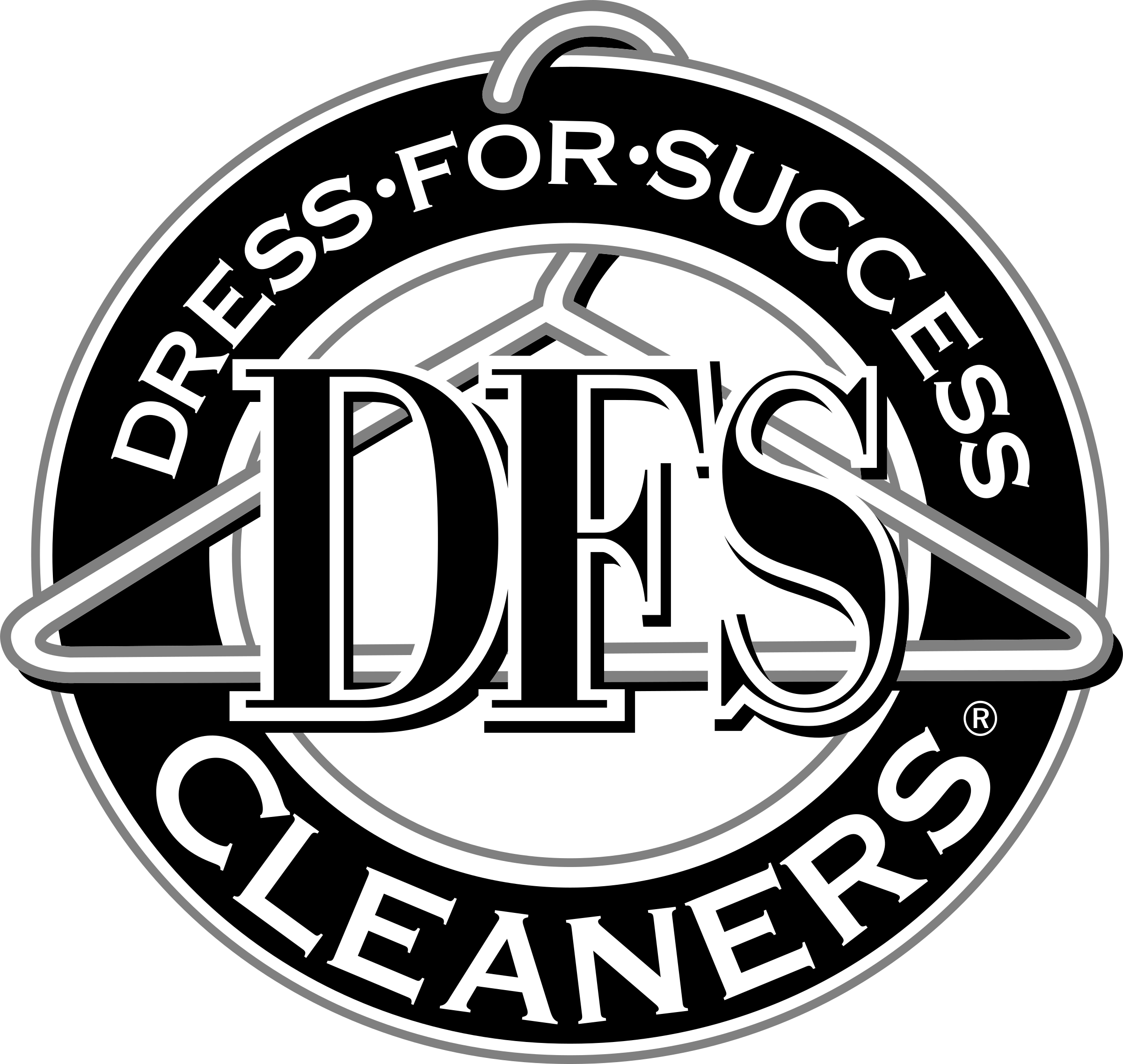 DFS Cleaners Logo PNG Transparent & SVG Vector.