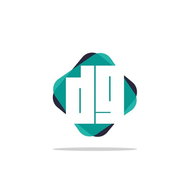 Initial Letter Dg Logo Template Template for Free Download on Pngtree.