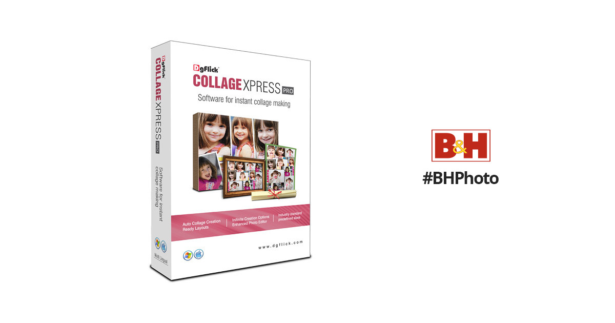 DgFlick Collage Xpress (Boxed, PRO Edition).