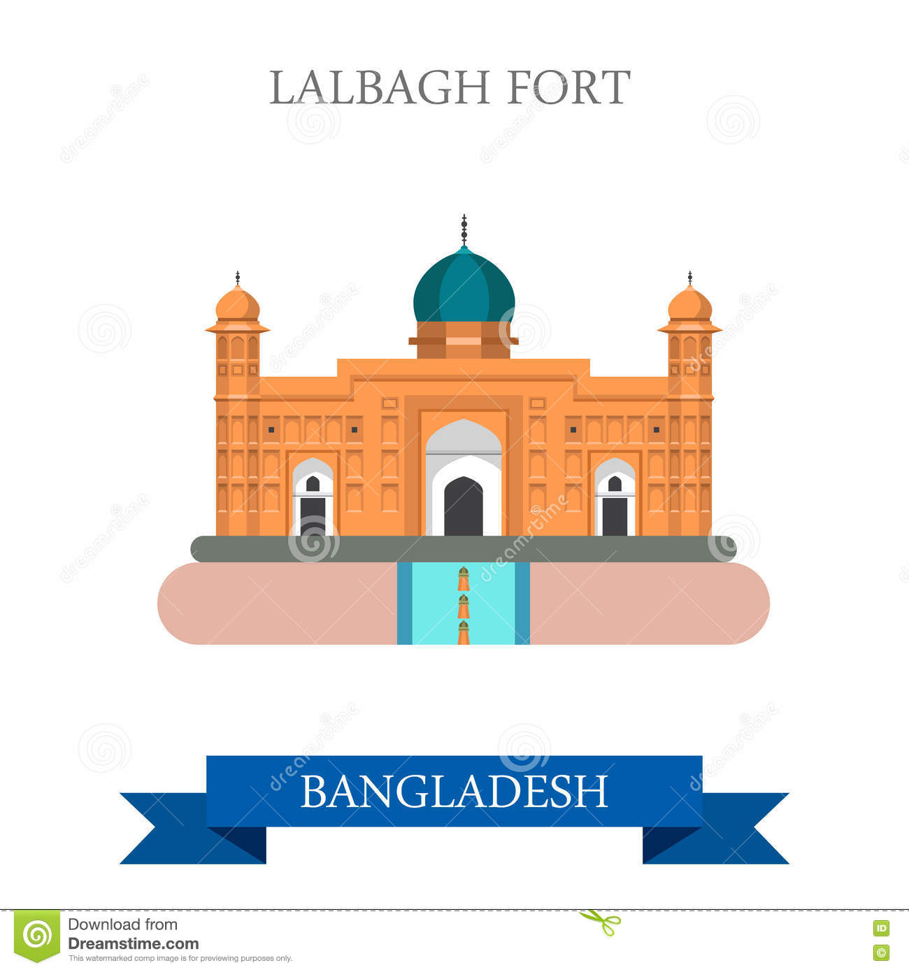 Dhaka 2c Bangladesh Stock Illustrations.