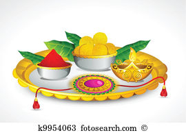Thali Clip Art and Illustration. 75 thali clipart vector EPS.
