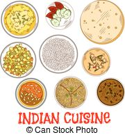 Thali Clipart Vector and Illustration. 80 Thali clip art vector.