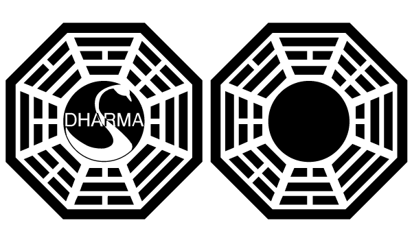 Vector Dharma Initiative Logo.