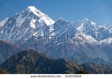 View Dhaulagiri Jaljala La Dhaulagiri Himal Stock Photo 227901880.