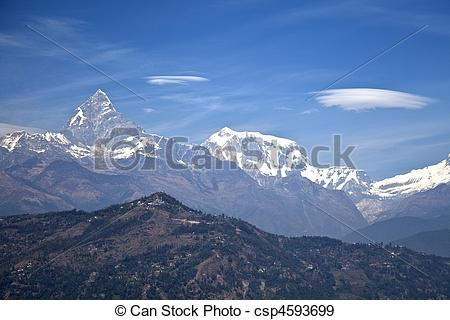 Stock Photographs of Dhaulagiri.
