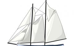 Free dhow Ship Clip Art.