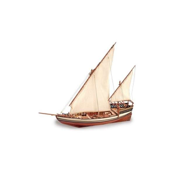 Sultan Arab Dhow,Artesania,My Hobby Company,wooden kit,model kit.