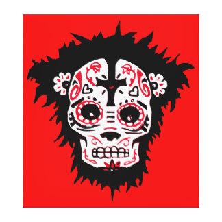 Dia De Los Muertos Wrapped Canvas Prints.