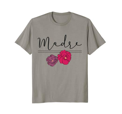 Amazon.com: Dia de las Madres Mother's Day Madre Floral Graphic T.