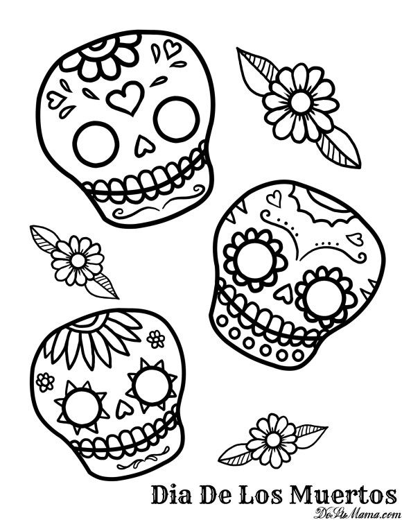 5 Free Day of the Dead Printables to Honor Latino Traditions.