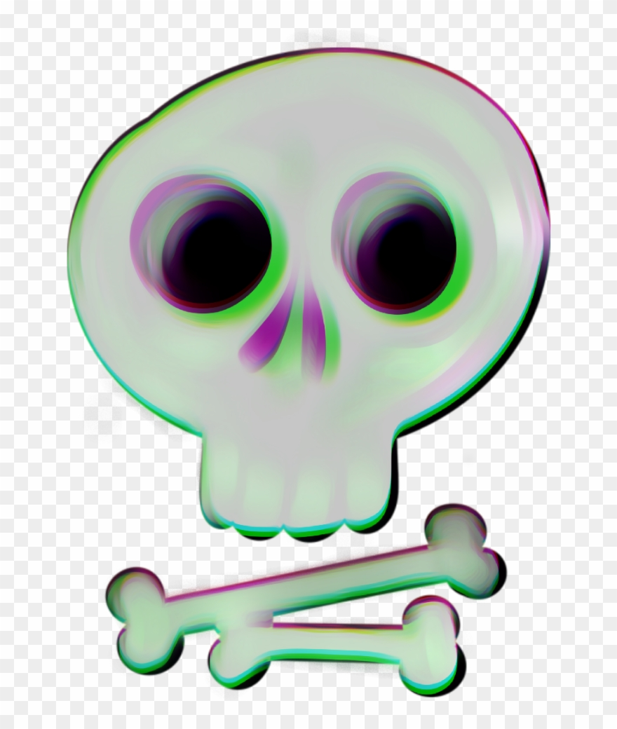 Skull Crossbones Halloween Diadelosmuertos Skeleton Clipart.
