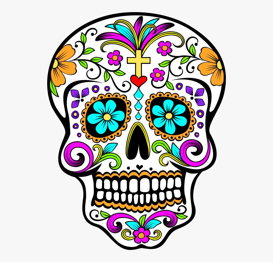 Sugar Skull Illustration.