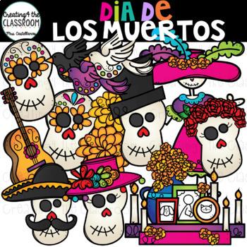 Dia De Los Muertos Clip Art {Day of the Dead Clip Art}.