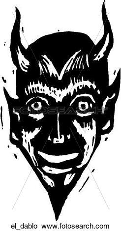 Clipart of El Diablo el_dablo.