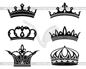 crowns and diadems.