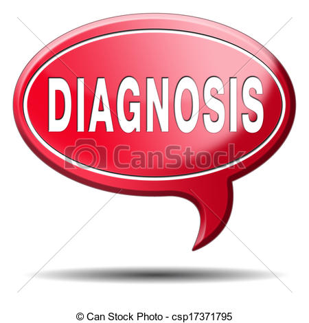 Diagnosis Clip Art.