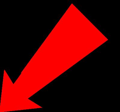 Clipart diagonal arrow.