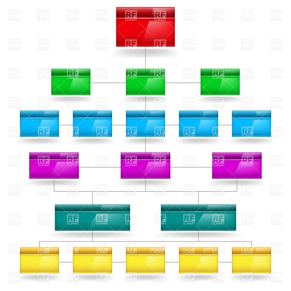 Flow Diagram Clipart.