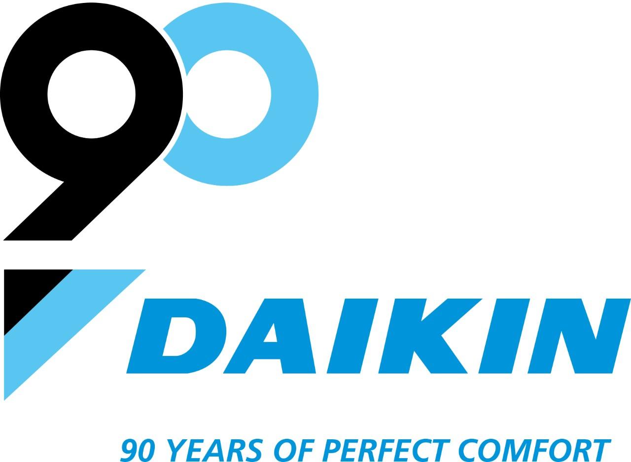 DAIKIN celebrates 90 years of perfect comfort in heating.