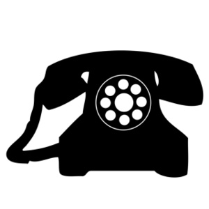 Old Phone Clipart.