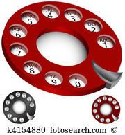 Rotary dial phone Clipart EPS Images. 791 rotary dial phone clip.