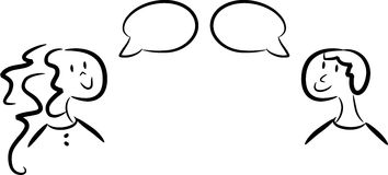 Free dialogue clipart.