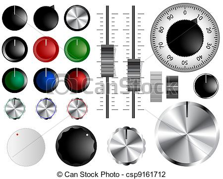 Knobs clipart #6