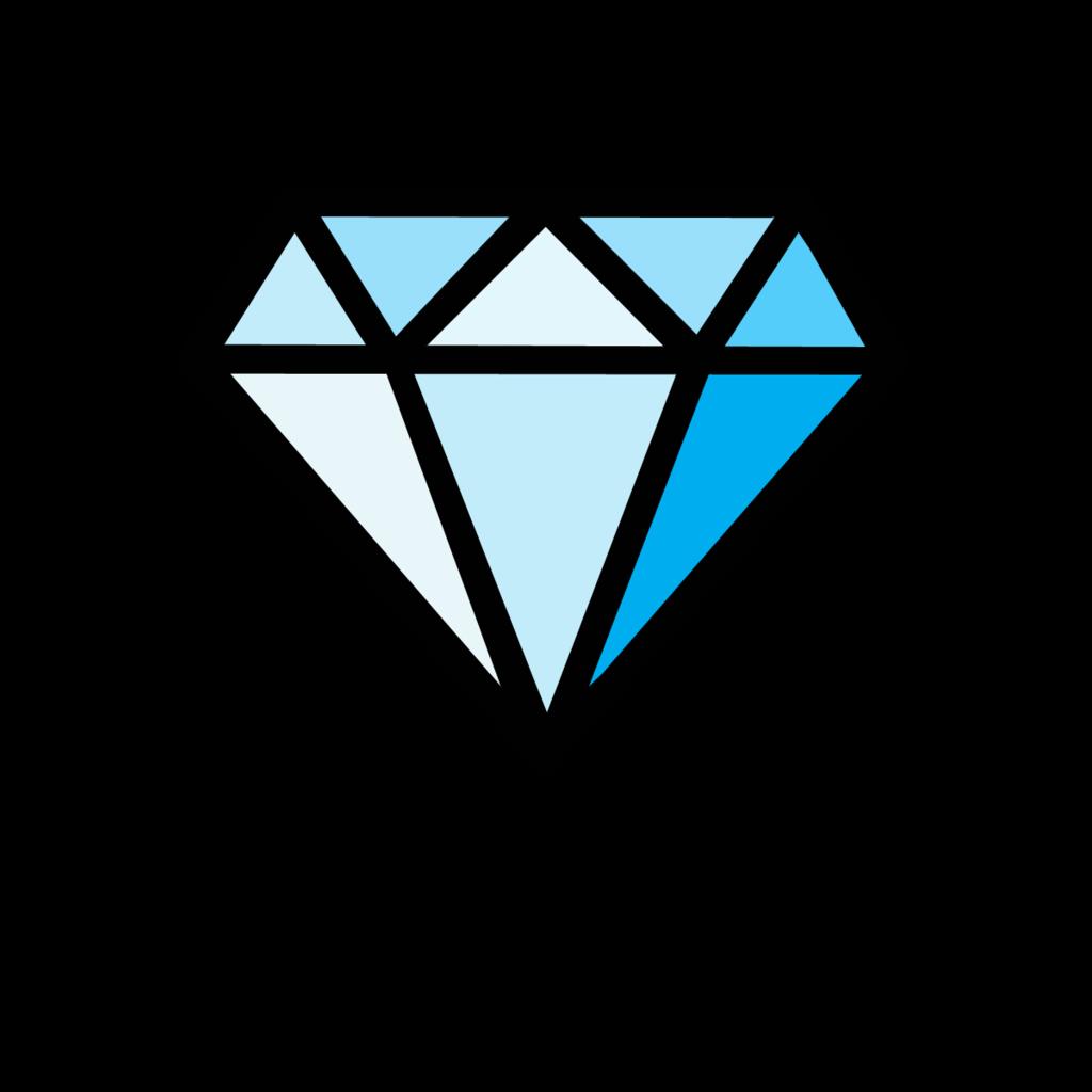 Diamond Cartoon.
