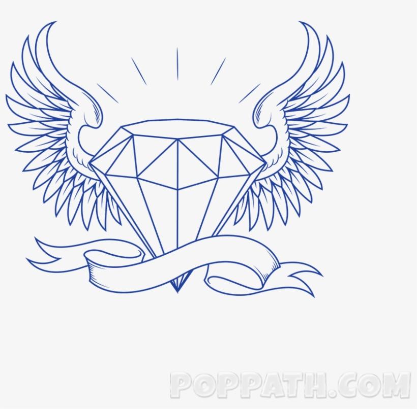 Drawn Diamond Crown.