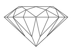 Diamond clip art diamond clipart photo 3.