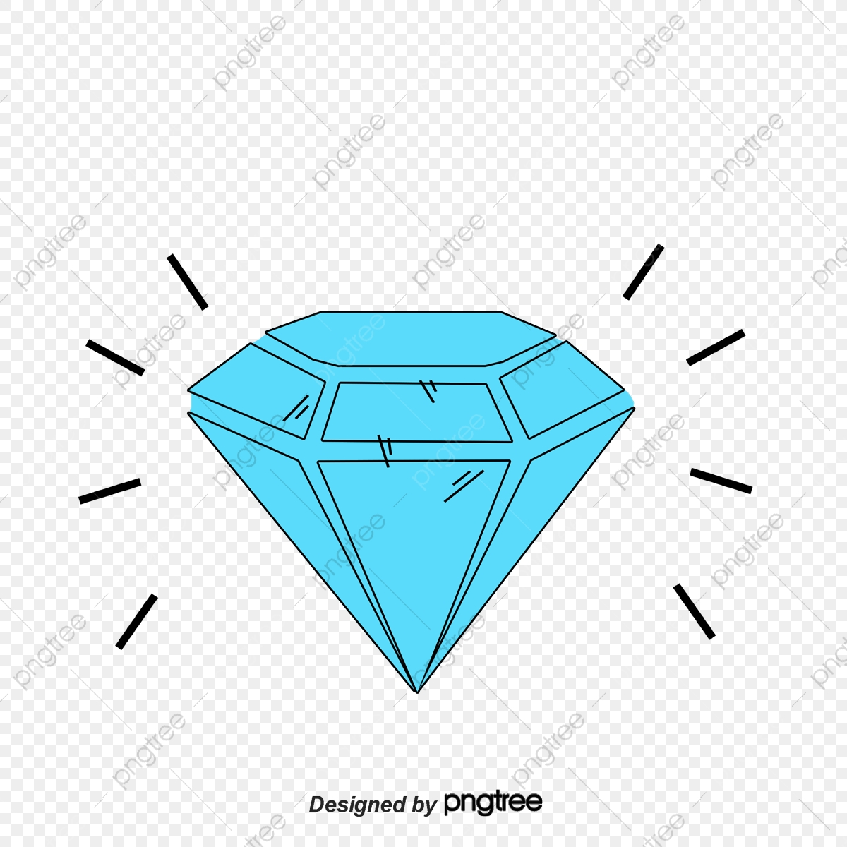 Sparkling Diamonds, Vector Png, Diamond, #630566.