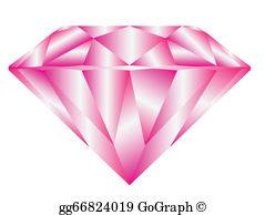 Pink Diamond Clip Art.