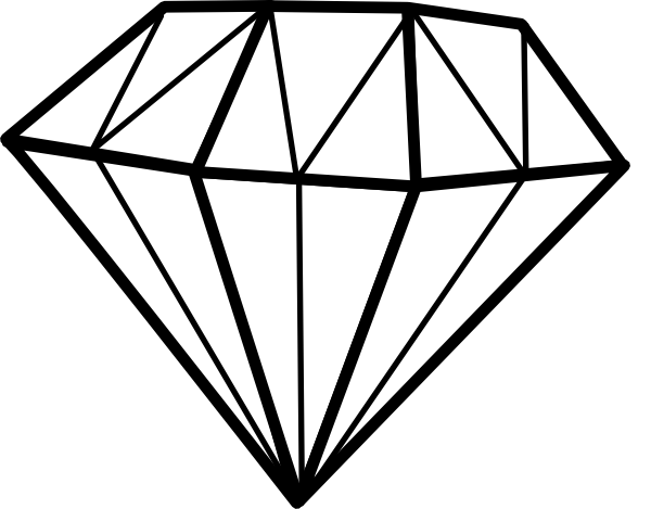 Diamond Clip Art Free.