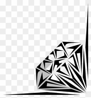 Free PNG Diamond Border Clip Art Download.