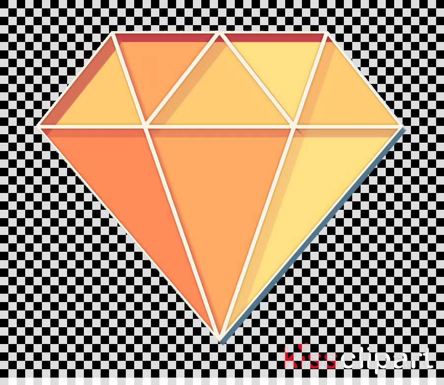 Diamond icon Web design icon clipart.