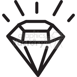 imperfect diamond icon . Royalty.