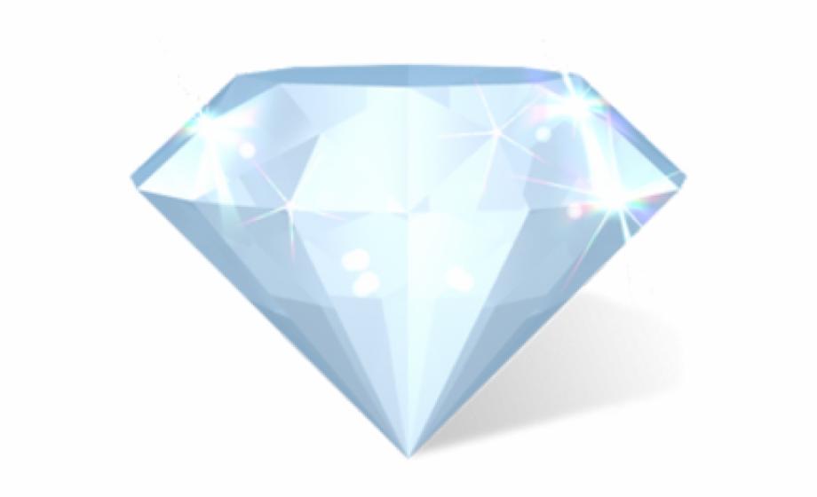Cartoon Diamond Diamond Icon.