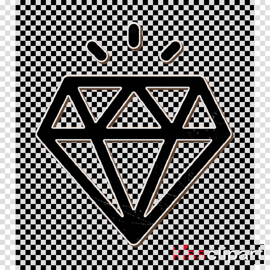 Customer services icon Diamond icon Quality icon clipart.