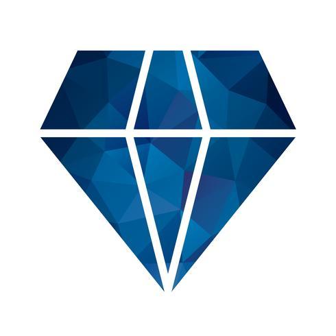 Vector Diamond Icon.