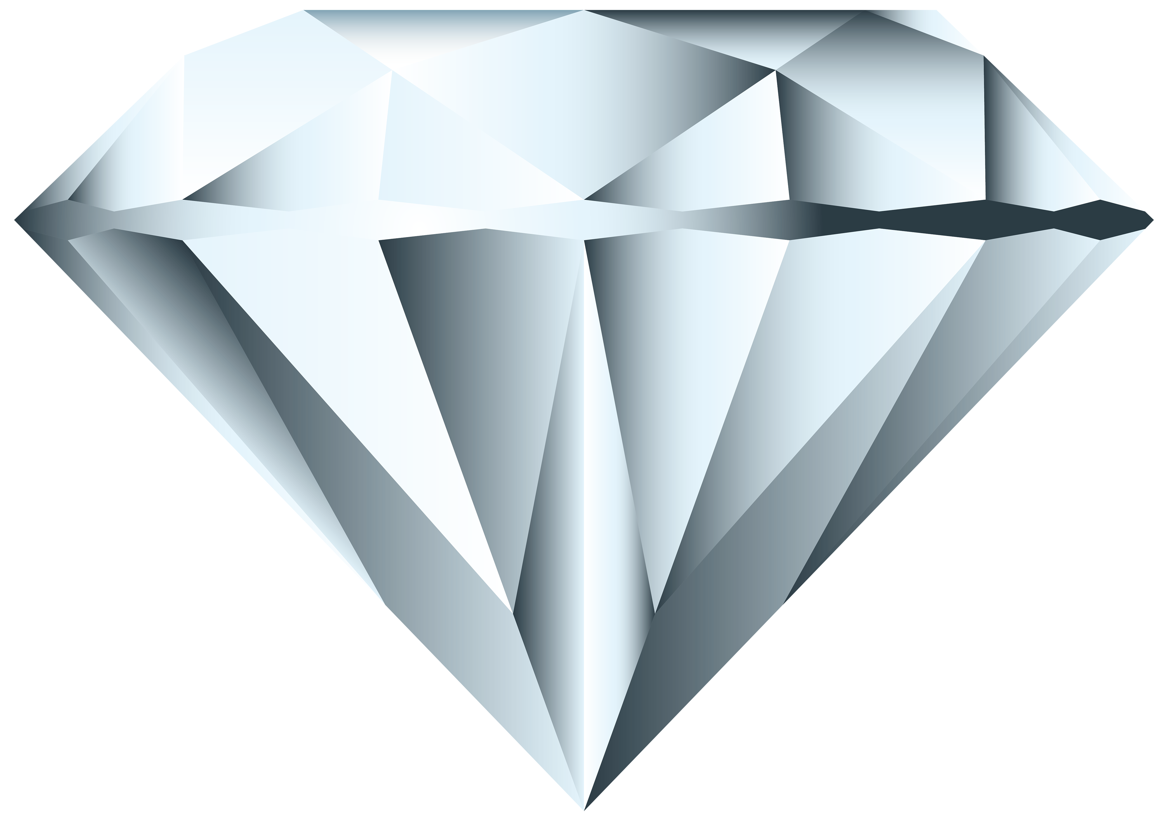 Diamond PNG Clipart Image.