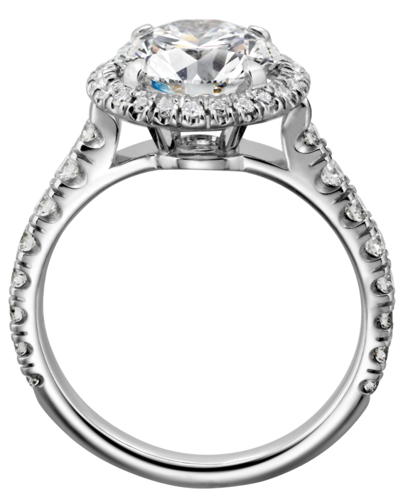 White Diamond Ring PNG Clipart.
