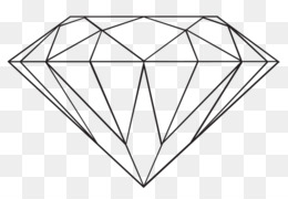 Diamond Outline PNG and Diamond Outline Transparent Clipart.