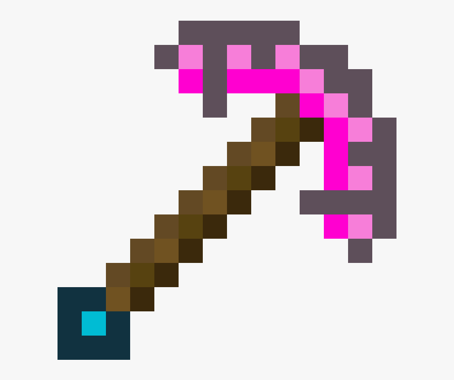 Pickaxe Enchanted Diamond Transparent Png Clipart Free.