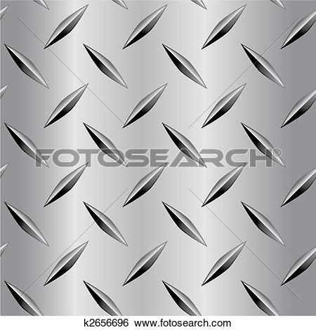 Clip Art of Diamond Plate Pattern k2656696.