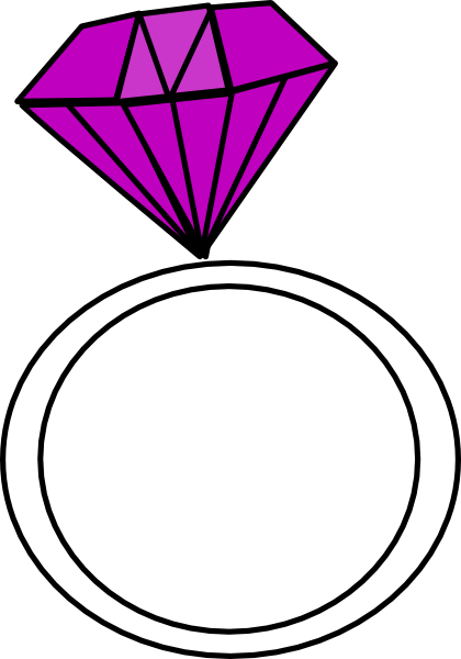 Diamond Ring Clipart Free.