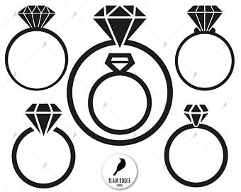 Most Popular Jewelry: Engagement Rings Clipart Png.