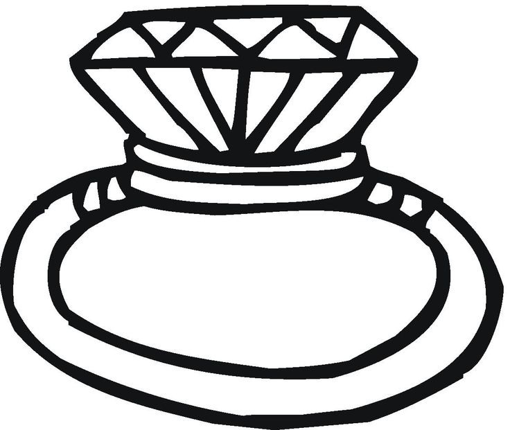 6794 Wedding Rings Clipart Black And White Wedding Rings Clipart.