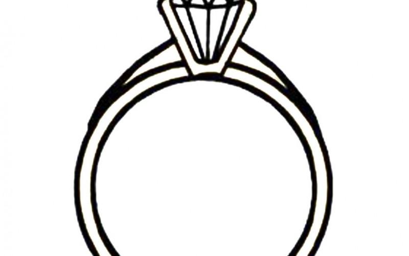 Diamond Ring Template Printable Diamond Template